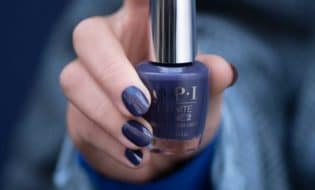 OPI infinite shine, long-wear Nail polish, Blues