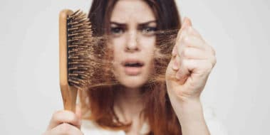 hair brush to prevent hair loss